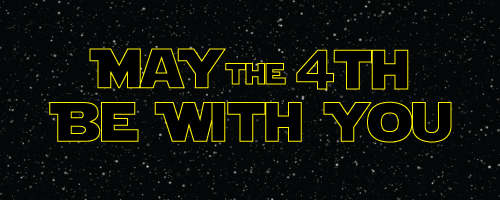 May the 4th be withyou