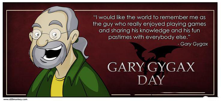 Efemérides: 79 años del nacimiento de GaryGygax