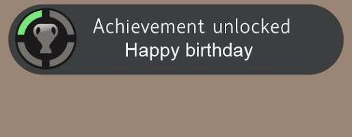 Feliz cumpleaños tome…