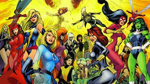 The History Of The FemaleSuperhero